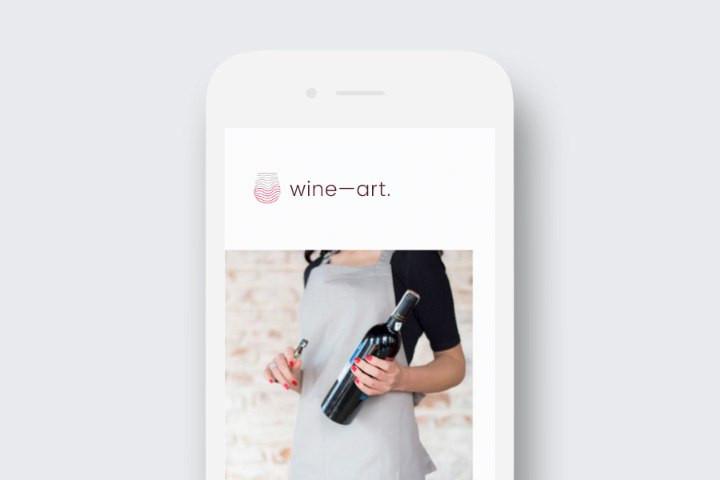 wine—art